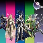 Characters of the Final Fantasy IV series