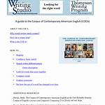 Corpus of Contemporary American English