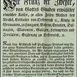 Dissolution of the Holy Roman Empire