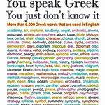 English words of Greek origin