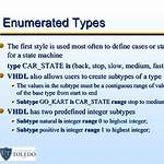 Enumerated type