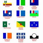 French colonial flags