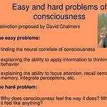 Hard problem of consciousness