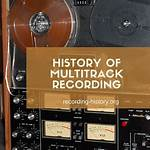 History of multitrack recording