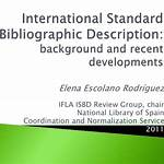 International Standard Bibliographic Description