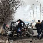 January 2015 Mariupol rocket attack