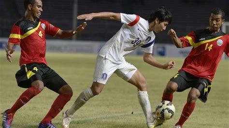 Korsel vs Timor Leste