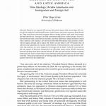 Liberalism and conservatism in Latin America