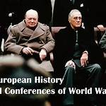 List of Allied World War II conferences