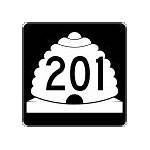 List of state highways serving Utah state parks and institutions