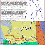 List of tributaries of the Columbia River