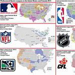 Major professional sports teams of the United States and Canada
