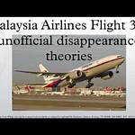Malaysia Airlines Flight 370 unofficial disappearance theories