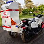 Motorcycle ambulance