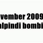 November 2009 Rawalpindi bombing