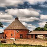 Octagon Round Barn, Indian Creek Township
