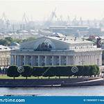 Old Saint Petersburg Stock Exchange and Rostral Columns