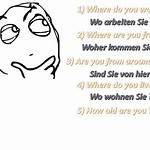 Outline of German expressions in English