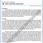 Outline of the United Nations