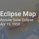 Solar eclipse of April 19, 1958