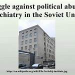 Struggle against political abuse of psychiatry in the Soviet Union