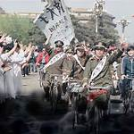 Students' hunger strike at the 1989 Tiananmen Square protests