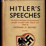 The Speeches of Adolf Hitler, April 1922 – August 1939