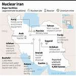 Timeline of the nuclear program of Iran
