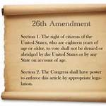 Twenty-sixth Amendment to the United States Constitution