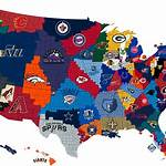 U.S. cities with teams from four major league sports