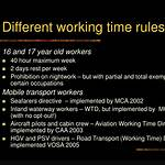 Working Time Directive 2003
