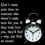 You Waste Your Time