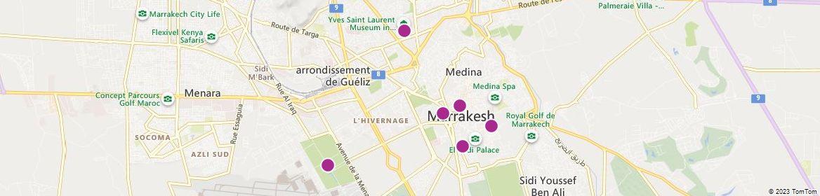Marrakesh attractions