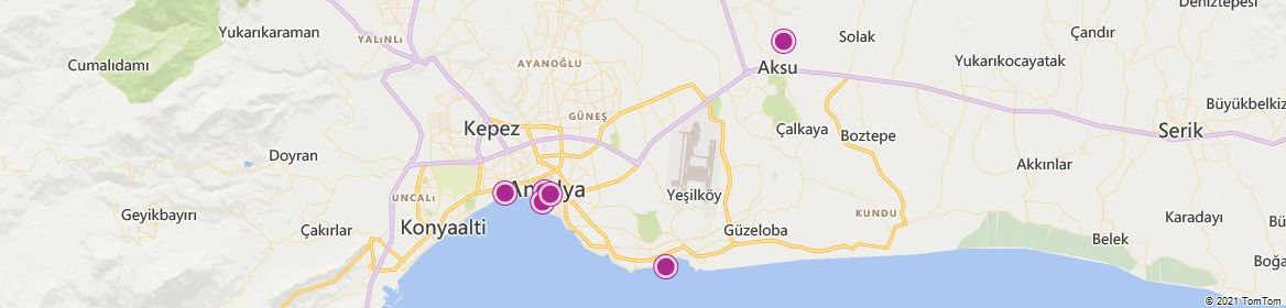 Antalya attractions