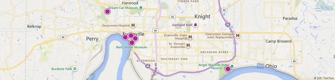 Evansville attractions