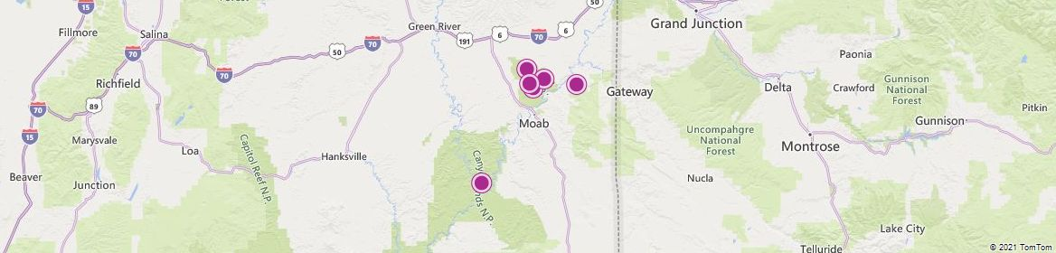 Moab attractions