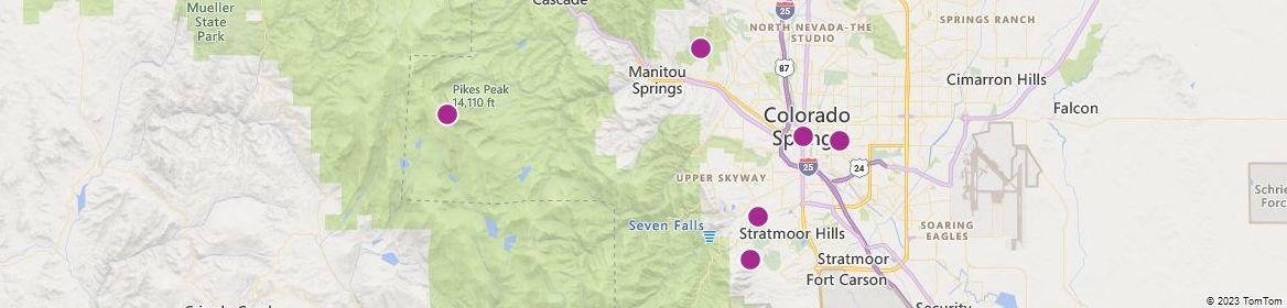 Colorado Springs attractions