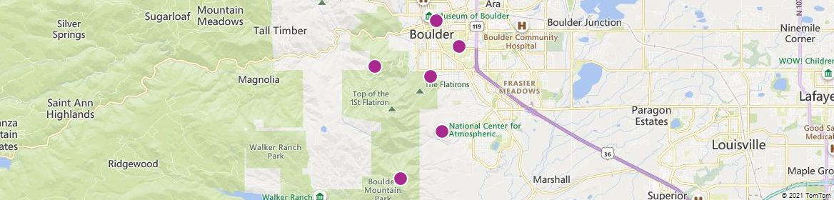 Boulder attractions