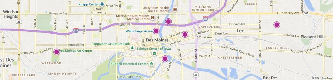 Des Moines attractions