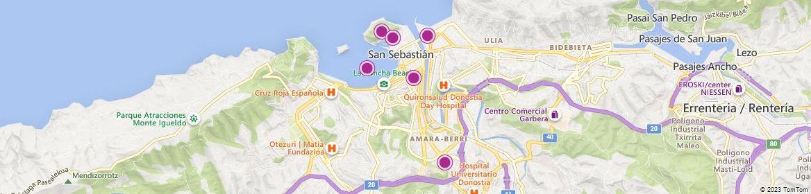 San Sebastián attractions