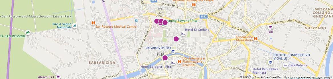 Pisa attractions