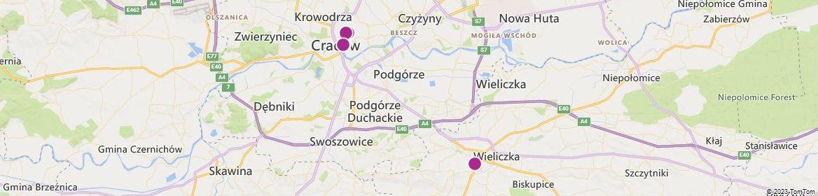 Kraków attractions