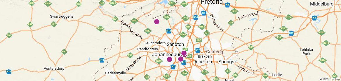 Points of Interest - Johannesburg