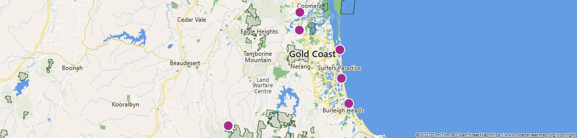 Points of Interest - Gold Coast