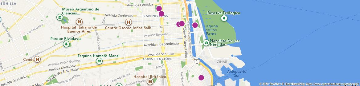 Points of Interest - Buenos Aires
