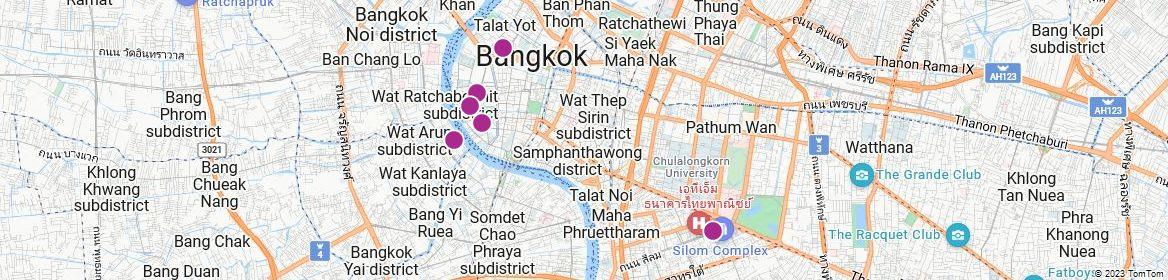 Points of Interest - Bangkok