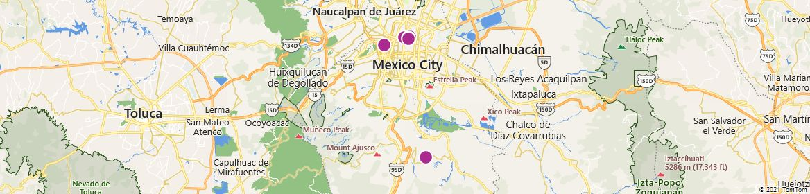 Points of Interest - Mexico City