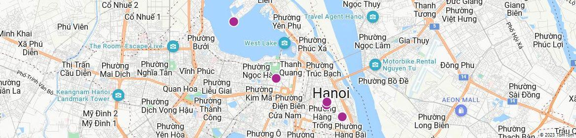 Points of Interest - Hanoi