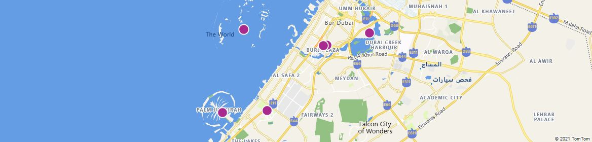 Points of Interest - Dubai