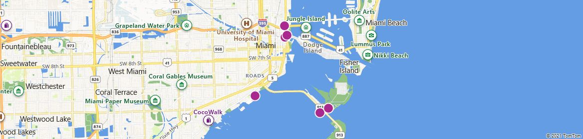 Points of Interest - Miami